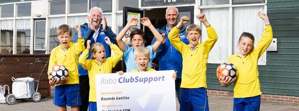 Rabo ClubSupport een prachtig resultaat.