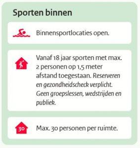 Sporthal OPEN 19-5-2021.